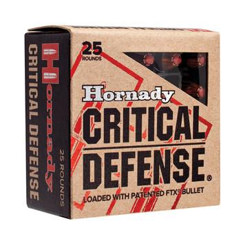 Hornady Critical Defense, 45ACP, 185 Grain, Hollow Point, 20 Round Box 90900, UPC : 090255909005