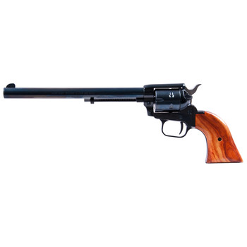 """Heritage Rough Rider, Single Action Army Revolver, 22LR/22WMR, 9"""" Barrel, Alloy Frame, Blue Finish, Wood Grips, Fixed Sights, 6Rd, Right Hand 22MB9, UPC :727962500415"""