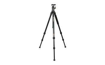 "Leupold Compact Aluminum Tripod, Extends to 53.5"", Folds to 20"", Compact Ball Head, Black Finish 170602, UPC : 030317010775"