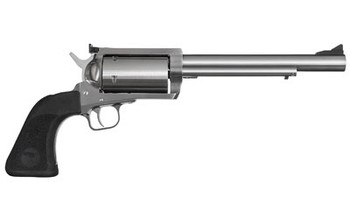 """Magnum Research BFR, Single Action, 45-70 Government, 7.5"""" Barrel, Stainless Frame, Stainless Finish, Rubber Grips, 5Rd BFR45707, UPC :761226028635"""