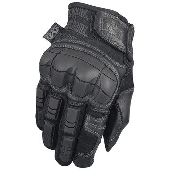 Mechanix Wear Tactical Specialty Breacher Gloves, Fire Resistant, Covert Black, Leather, Large TSBR-55-010, UPC :781513630785