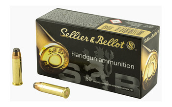 Sellier & Bellot Pistol, 38 Special, 158 Grain, Soft Point, 50 Round Box SB38C, UPC :754908500475