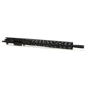 "Radical Firearms Complete Upper Assembly, 223 Rem/556NATO, 16"" SOCOM (Mid) Barrel, 15"" RPR, Zero Impulse Muzzle Brake, Black Finish, Includes Charging Handle and Bolt Carrier Group CFU16-5.56SOC-15RPR-ZS, UPC :816903024025"