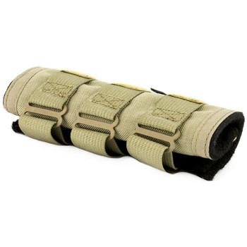 """SilencerCo Cover, Flat Dark Earth, 6""""x1.75"""", Designed for SilencerCo Octane 9  45K, Saker/Specwar 5.56, Omega, but Will Fit Other Manufacturers, Not Intended For Full Auto Use or Excessive Rapid Fire AC1977, UPC :816413020395"""