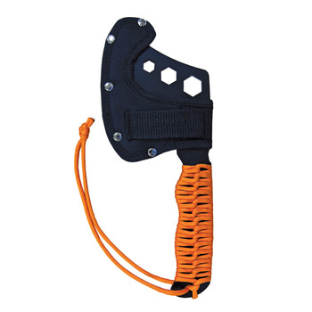 UST - Ultimate Survival Technologies ParaHatchet FS Hatchet, Paracord Handle w/ Fire, Orange 20-02227-08, UPC :811747022275