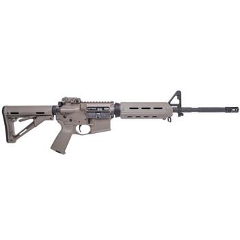 "Spike's Tactical M4LE, Semi-automatic Rifle, 223 Rem/556NATO, 16"" Phosphated Barrel, Flat Dark Earth Finish, MOE Grip, Magpul CTR Stock, Magpul Backup Flip Sight, MOE Handguard, No Magazine STR5025-M4F, UPC :855319005105"