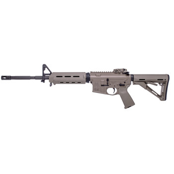 "Spike's Tactical M4LE, Semi-automatic Rifle, 223 Rem/556NATO, 16"" Phosphated Barrel, Flat Dark Earth Finish, MOE Grip, Magpul CTR Stock, Magpul Backup Flip Sight, MOE Handguard, No Magazine STR5025-M4F, UPC :855319005105"