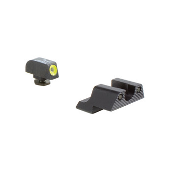 Trijicon HD Night Sight, Fits Glock 42 and 43, Yellow Outline GL113-C-600784, UPC :719307212695