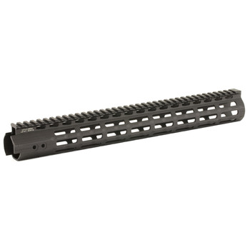 "Leapers, Inc. - UTG Handguard, Fits AR Rifles, 15"" Super Slim, Free Float M-LOK, Black MTU019SSM, UPC :4717385551565"