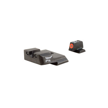 Trijicon HD Tritium Night Sights, Fits MP, Orange Outline SA137O, UPC :719307209725