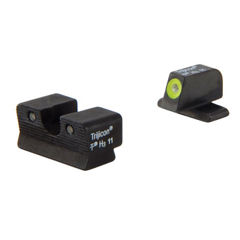 Trijicon HD Tritium Night Sight, Fits Springfield XDS, Yellow Outline SP102-C-600751, UPC :719307211995