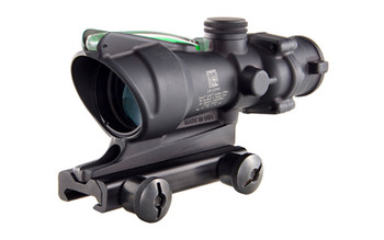 Trijicon ACOG, 4x32, Green Dual Illuminated, .223 Chevron Reticle, With TA51 Mount TA31F-G, UPC :719307302945