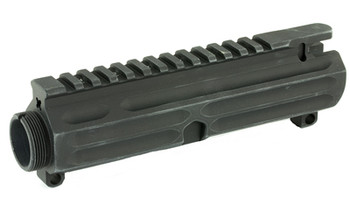 Yankee Hill Machine Co Billet Upper, UPPER, Upper, Black, Stripped, AR15 YHM-110-BILLET, UPC :816701017625