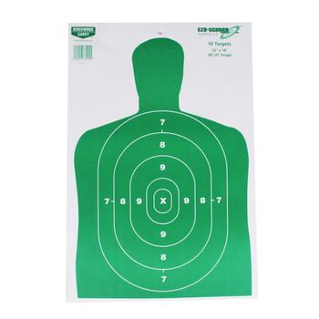 Birchwood Casey Eze Scorer BC27 Grn 12x18 Paper Target 10PK UPC: 029057372045