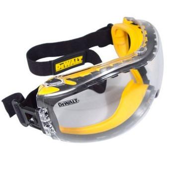 DeWalt Concealer Anti-Fog Dual Mold Safety Goggle - Clear, UPC :674326224695