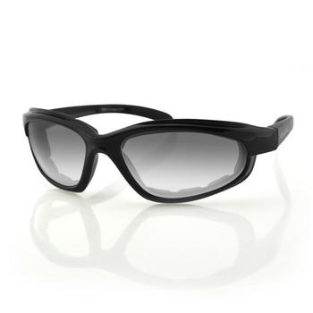 Bobster Fatboy Photochromic Sunglasses-Gloss Black Frame, UPC :642608021485