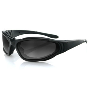 Bobster Raptor II Interchange Sunglasses Blk Frame 3 Lenses, UPC :642608028835