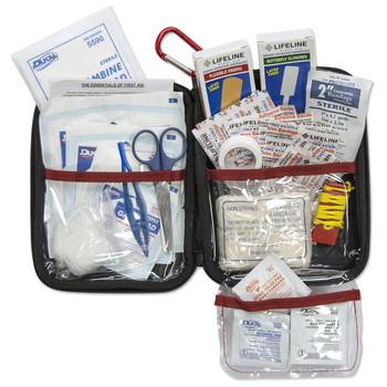 Lifeline Large Hard Shell Foam First Aid Kit 85 Pieces, UPC : 091966044085