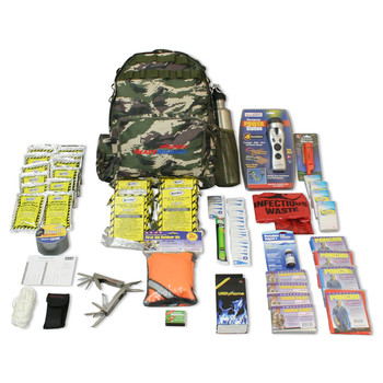Ready America Outdoor Survival Kit 4-Person, UPC :753962703105