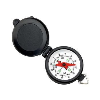 Coleman Pocket Compass With Plastic Case Blk/Wht 2000016512, UPC : 076501908305