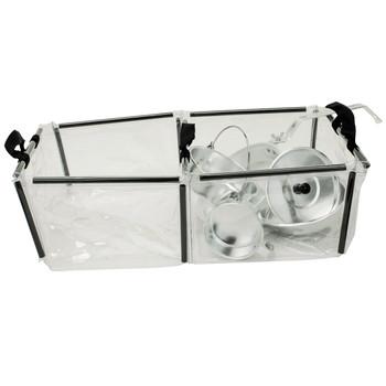 Coleman Folding Double Wash Basin Black/Clear 2000016491, UPC : 076501923155