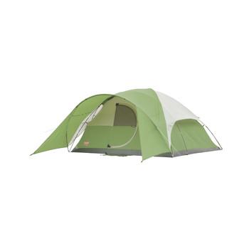 Coleman Evanston 8 Tent 12x12 Foot Green/Tan/Grey 2000027942, UPC : 076501021745