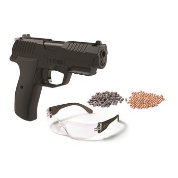 Crosman Iceman CO2 BB/Pellet Pistol Kit, UPC : 028478146365