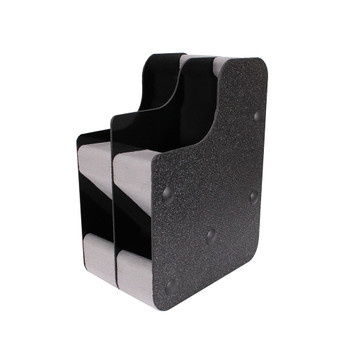Benchmaster Two Gun Conceal Carry Pistol Rack w/Mag Storage, UPC :751710506695