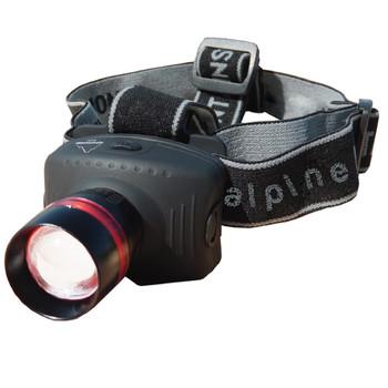 Alpine Mountain Gear 130 Lumen Multi Focus Head Lamp, UPC :877060001755
