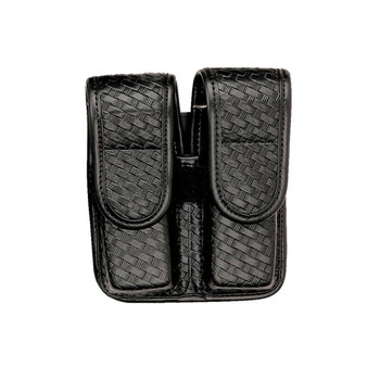 Bianchi 7902 Double Mag Pouch Hidden Snap Beretta 92/96, UPC : 013527253415