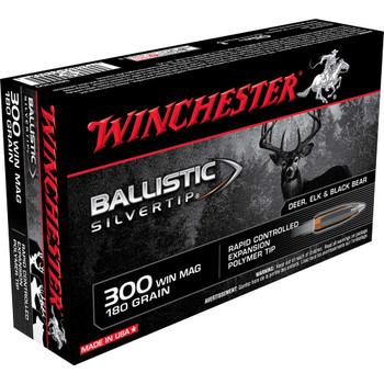BAL SLVRTP 300 WIN MAG 180GR BST 20/BX, UPC : 020892210325
