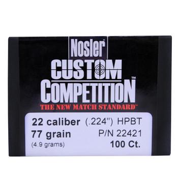 22 Cal 77gr CustCmp HPBT (100 ct), UPC : 054041224215