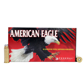 Federal American Eagle Ammunition 44 Remington Magnum 240 Grain Jacketed Soft Point Box of 50, UPC : 029465099275