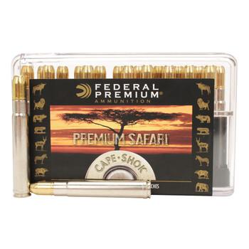 Federal Premium Cape-Shok Ammunition 416 Remington Magnum 400 Grain Trophy Bonded Sledgehammer Box of 20, UPC : 029465092795