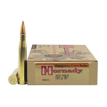 Hornady Custom Ammunition 300 H&H Magnum 180 Grain InterBond Box of 20, UPC : 090255382105
