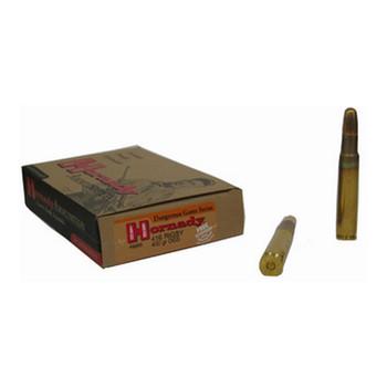 Hornady Dangerous Game Ammunition 416 Rigby 400 Grain DGS Flat Nose Solid Box of 20, UPC : 090255382655