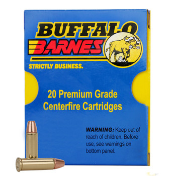 Buffalo Bore Ammunition 40 S&W 125 Grain Barnes TAC-XP Hollow Point Lead-Free Box of 20, UPC :651815023045