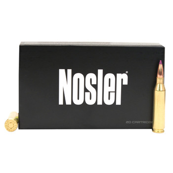 Nosler Defense Ammunition 223 Remington 64 Grain Bonded Solid Base Soft Point Box of 20, UPC : 054041396745