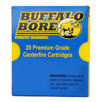 Buffalo Bore Ammunition 9mm Luger +P+ 147 Grain Jacketed Hollow Point Box of 20, UPC :651815024035