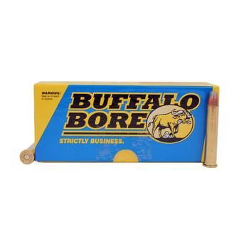 Buffalo Bore Ammunition 38-55 WCF 255 Grain Jacketed Flat Nose Bonded Core (377 Diameter) Box of 20, UPC :651815011035