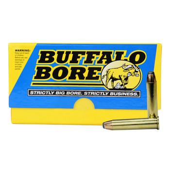 Buffalo Bore Ammunition 45-70 Government 350 Grain Jacketed Flat Nose Box of 20, UPC :651815008035