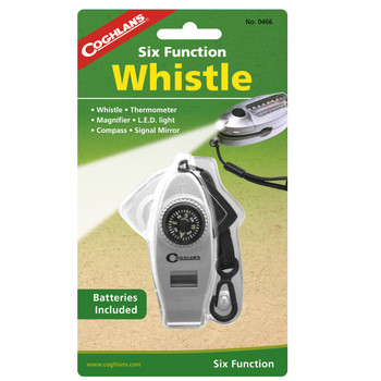 Six Function Whistle, UPC : 056389004665