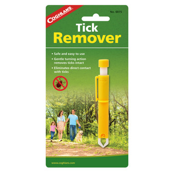 Coghlan's Tick Remover Polymer Yellow, UPC : 056389000155