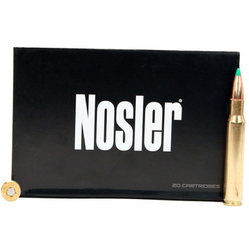 Nosler BT Ammunition 30-06 Springfield 180 Grain Ballistic Tip Box of 20, UPC : 054041400725