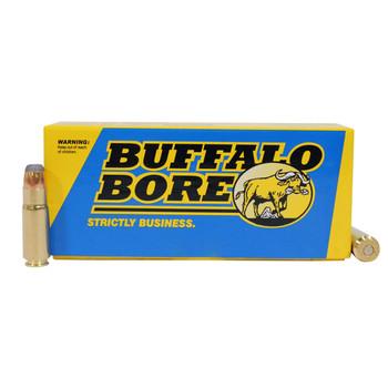Buffalo Bore Ammunition 458 SOCOM 400 Grain Jacketed Flat Nose Box of 20, UPC :651815458045
