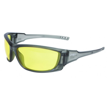 CASE OF 4 A1500 SOLID GRAY FRM AMBER HARDCOAT LENS, UPC : 033552022275