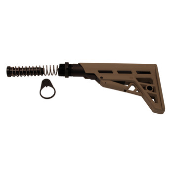 AR-15 TactLiteAdjMilStk w/MilBTAssmblyFDE, UPC :758152306715