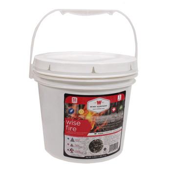 1 Gallon Bucket - Wise Fire, UPC : 094922415615