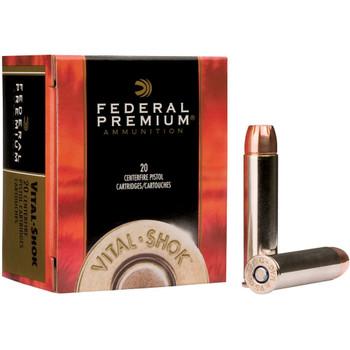 Federal Premium Vital-Shok Ammunition 357 Magnum 140 Grain Barnes XPB Hollow Point Lead-Free Box of 20, UPC : 029465098315