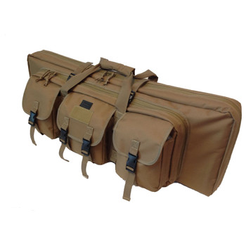 36IN DOUBLE RIFLE CASE - TAN, UPC :616086525605